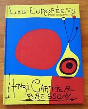 HENRI CARTIER BRESSON - LES EUROPEENS/THE EUROPEANS - 1955 1ST FRENCH EDITION