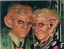 Star Trek DS 9: Quark and Moogie Signed Photo