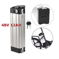 48V 12Ah 350W Electric Bicycle 18650 Lithium Battery Cell Pack SilverFish E-bike