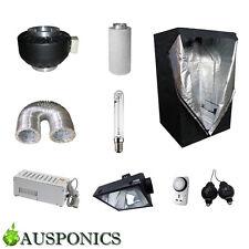 600W MAGNETIC BALLAST/HPS Lamp/OG/Ducting/Fan/Filter/Tent (1.5x1.5x2M) Kit