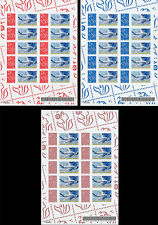 "Sheetlets Perso stamps ""Marianne of Lamouche / Certification Airbus A380"" 2006"