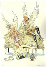 Félix Meynet ex libris 200 ex n°/s stocking Ailes & belles