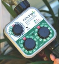 NEW RAIN DRIP R675CT AUTOMATIC 3 DIAL  WATER TIMER WITH HOSE THREADS 0116103