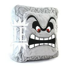 SUPER MARIO BROS. TWOMP 35 CM PELUCHE plush THWOMP DOSSUN CUSHION PILLOW cuscino