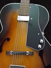 Vintage ARCHTOP Pickguard ONLY with PIckup, Controls and Jack 4 Your Guitar!