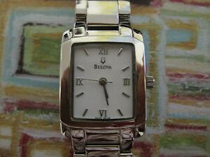 #297 ladys hi-end stainless steel BULOVA watch bracelet