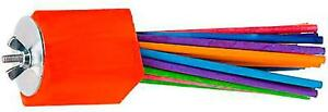 """Super Bird Creations Paper Party Bird Toy for Ringnecks more, Large 6.5""""x 1.5"""""""