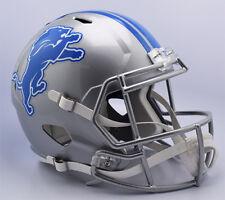 DETROIT LIONS NFL Riddell Speed Full Size Replica Football Helmet