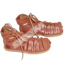 Roman, Leather Brown Caligae Sandals Armour Medieval Renaissance Replica