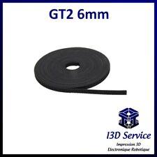 1,00 €//m-gt2 correa dentada METERWARE 2gt correa-gt2 Open belt-CNC impresora 3d