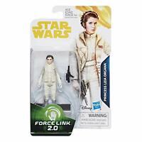 "Star Wars PRINCESS LEIA HOTH GEAR Figure 3.75"" Solo Movie Card FORCE LINK 2.0"