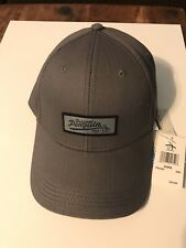 New Original Penguin Hat Patch Adjustable Cap Grey Men's by Munsingwear