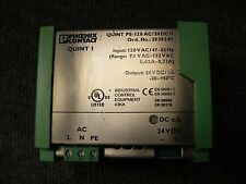 Phoenix Contact Power Supply Cat# 2939247 Model QUINT PS-120AC/24DC/1