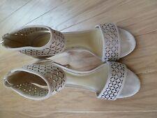 "Antonio Melani  ""dusty rose"" high heel  Sandals , size 8.5"
