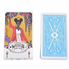 78x Modern Witch Tarot Cards Deck Female Rider Waite Imagery Party Game Gifts H5