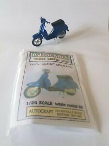 1980s Suzuki CS50 scooter metal model kit approximately 1/24 scale Gemma Roadie