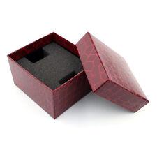 Crocodile Durable Present Gift Box Case For Bracelet Bangle Jewelry Watch Box S1
