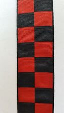 "Medal Ribbon.2nd GURKHA 200th ANNIVERSARY MEDAL RIBBON  Sold in 6"" lengths"