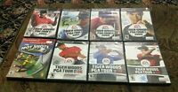 PS2 LOT/BUNDLE TIGER WOODS GOLF COMPLETE WITH MANUAL 2002-2008 + Hot Shots 3 CIB
