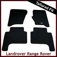 Range Rover Sport Pre-facelift Mk1 2005-2009 Tailored Carpet Car Mats BLACK