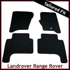 Land Rover Range Rover Sport Mk1 2005-2009 Tailored Carpet Car Mats BLACK