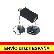 Adaptador Conversor Prolongador Mini USB Macho a Micro USB Hembra a1718