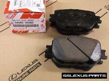 Lexus IS250 (2014-2015) (Base Model) OEM FRONT BRAKE PADS / PAD SET 04465-30480
