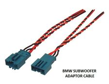 BMW 1 SERIES F20 2011 ONWARDS UNDERSEAT SUBWOOFER CABLE ADAPTER SUB