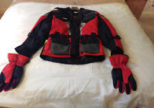 Womans Motorcycle Jacket (All weather) & Gloves