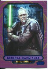 Star Wars Galactic Files Blue Parallel #190 General Rahm Kota