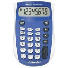 Texas TI503SV Pocket Calculator with Large Display