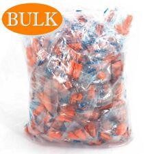 Lot Bulk Ear Plugs Soft Orange Foam Hearing Travel Noise Shooting Sleep Earplugs