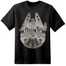 Star Wars Grande Kessel Run Top Gun Estilo Camiseta Chewbacca BELLACO One último