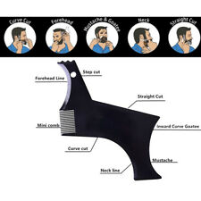 Beard Styling Shaping Template Comb Symmetry Line Up Guide Trimming Barber Tools