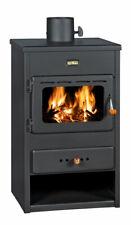 Wood Burning Stove Solid Fuel Log Burner Fireplace Top Flue 9 kw Prity K1