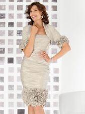 Ian Stuart Mother of the Bride dress with bolero jacket Size 12 (cost £1250 new)