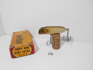 Boxed Vintage South Bend Babe Oreno Fishing Lure Plug - New Old Stock (16)