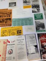 Vintage South DakotaTRAVEL ITEMS  BROCHURES AND TRAVEL GUIDE paper Ephemera Lot