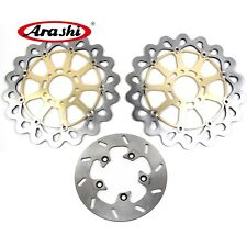 For SUZUKI GSXR750 GSX-R 750 1996 - 2003 Brake System Front Rear Disc Rotors Set