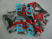 Black Red INJECTION Fairing Bodywork Kit Yamaha YZFR1 YZF-R1 2004-2006 36 B6