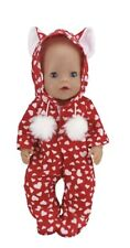 ⭐️BRAND NEW⭐️Clothes To Fit 43cm Baby Born Doll - Jump Suit