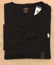 Polo Ralph Lauren Men's Crew Neck Long Sleeve Cotton T-Shirt Size S, M, L, New