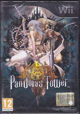 Nintendo Wii **PANDORA'S TOWER** rpg nuovo sigillato italiano Pal