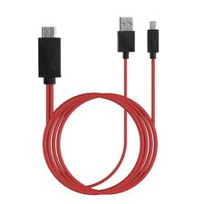 For HTC One Flyer Eve 3D MHL Micro USB to HDMI 1080P HD TV Cable Adapter