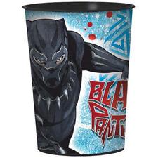 BLACK PANTHER REUSABLE KEEPSAKE CUPS (2) ~ Birthday Party Supplies Favor Stadium