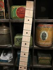 "CIGARBOX fretboard (1 1/2""  Poplar w/walnut dot inlays)"