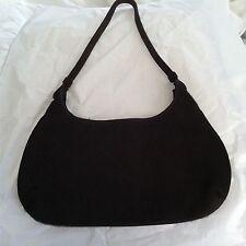 Zara Dark Brown Pony Hair & Suede Small Handbag