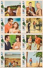 JAMES BOND 007 DR. NO (1962) U.S. Lobby Cards Complete Set of 8