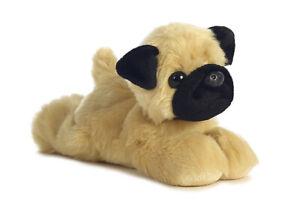 "8"" Mini Flopsie Mr.Pugster Pug Dog Soft Stuffed Animal Plush"