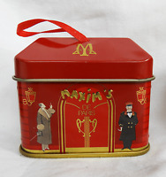 Maxim's De Paris Shop Shape Chocolate - Hanging Tin Box / Gift Box / Decoration